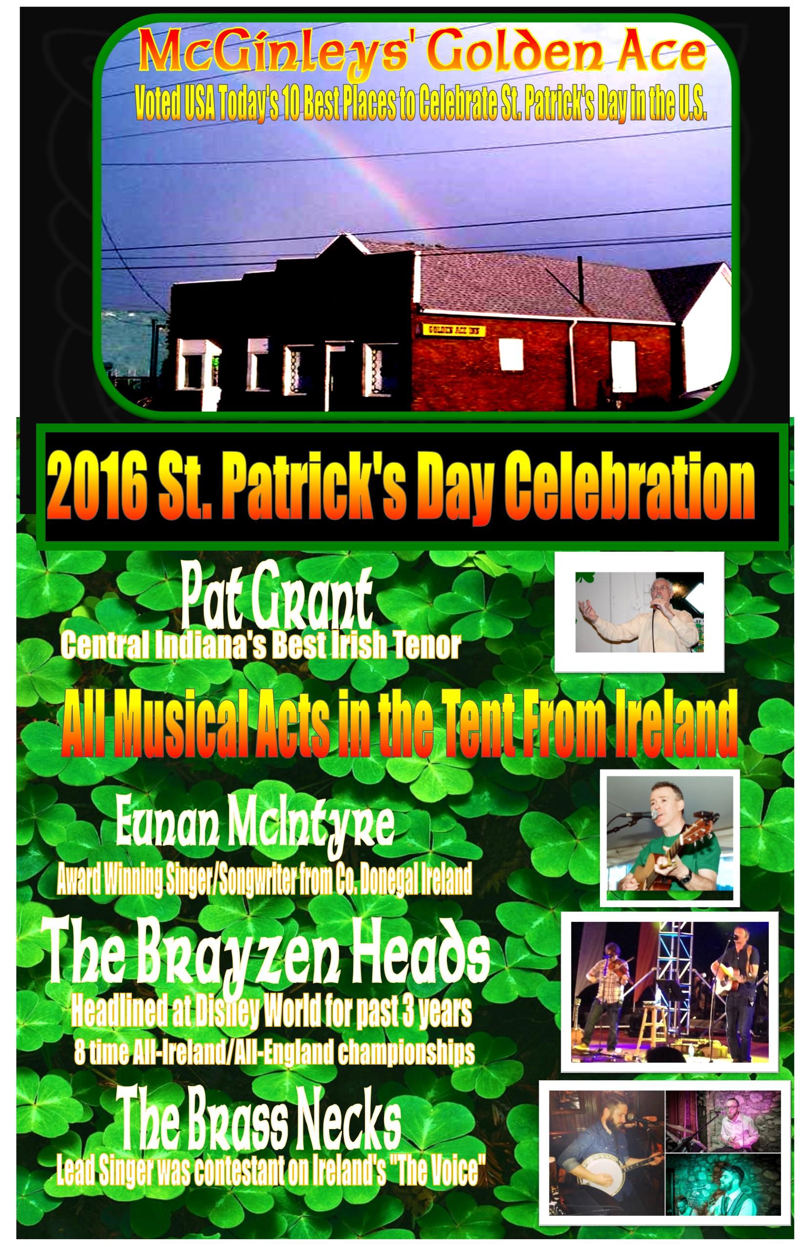 St. Patrick's Day 2016!