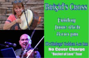Brigid's Cross--Irish music night